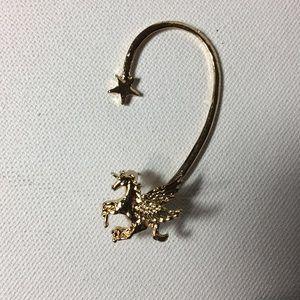 Jewelry - Pegasus Ear Wrap Earring